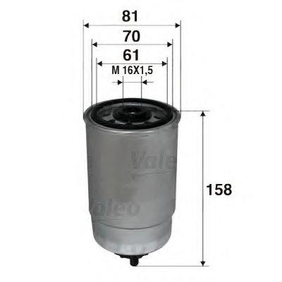 Топливный фильтр VALEO купить