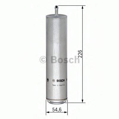 0450906457 BOSCH Топливный фильтр