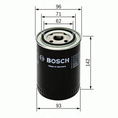0986452400 BOSCH Масляный фильтр