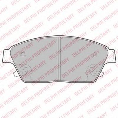 Колодки Тормозные Дисковые DELPHI LP2170 для авто CHEVROLET, OPEL с доставкой
