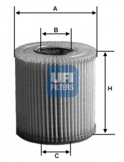 2506500 UFI Масляный фильтр
