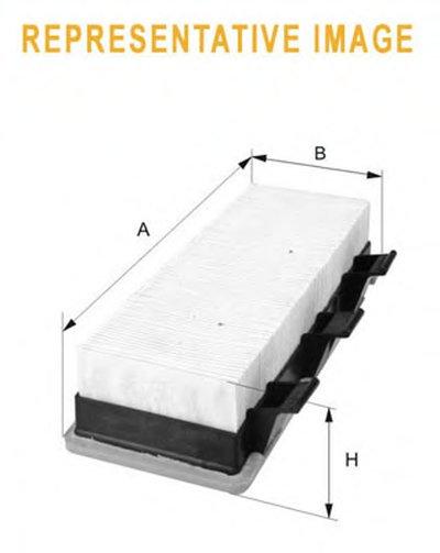 WA9750 WIX FILTERS Воздушный фильтр