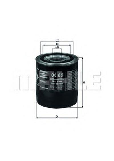 OC65 KNECHT Масляный фильтр