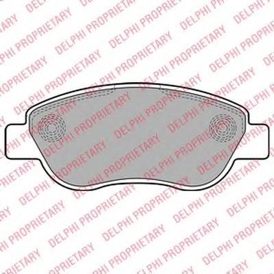 Тормозные колодки DELPHI LP2075 для авто RENAULT с доставкой