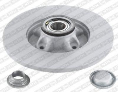 Тормозной диск с интегрированным подшипником