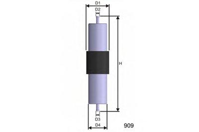 Топливный фильтр MISFAT MISFAT купить
