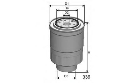 M411 MISFAT Топливный фильтр
