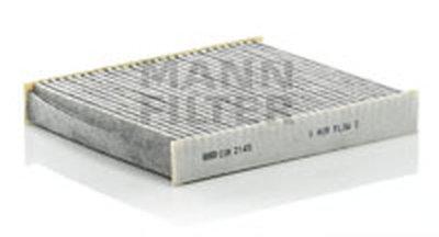 CUK2145 MANN-FILTER Фильтр, воздух во внутренном пространстве