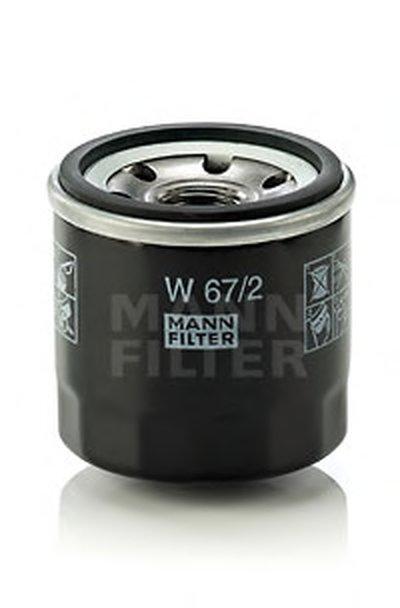 W672 MANN-FILTER Масляный фильтр