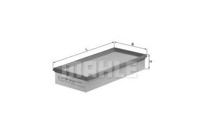 LX572 KNECHT Воздушный фильтр