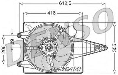 Вентилятор, охлаждение двигателя DENSO купить
