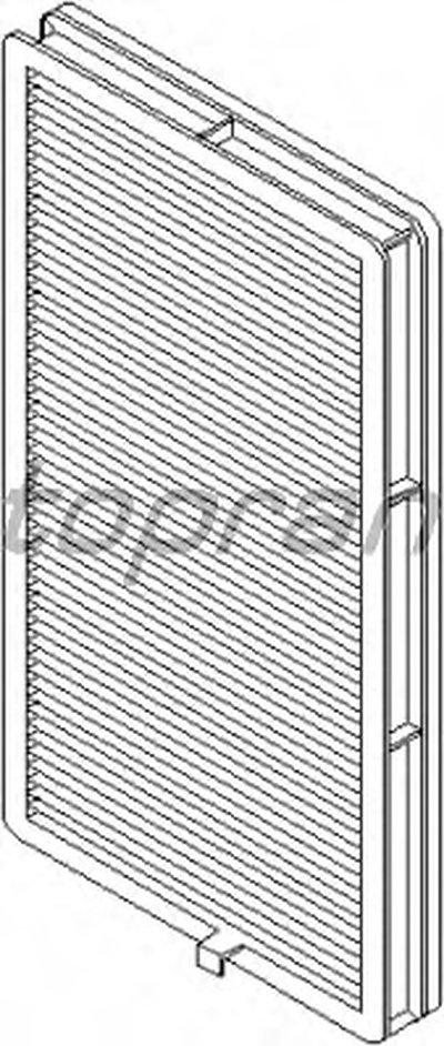 500221 TOPRAN Фильтр, воздух во внутренном пространстве