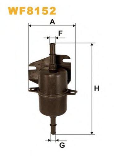 WF8152 WIX FILTERS Топливный фильтр