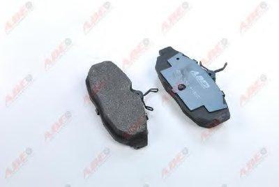 Фотография Комплект тормозных колодок, дисковый тормоз ABE C2Y014ABE-9