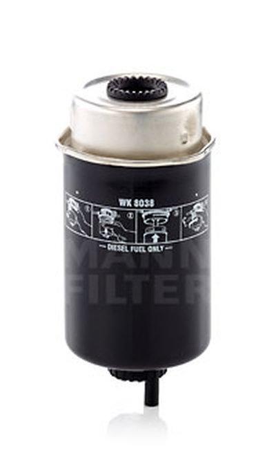 Топливный фильтр MANN-FILTER купить