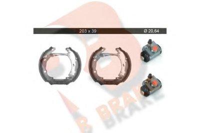 Комплект тормозных колодок R BRAKE купить