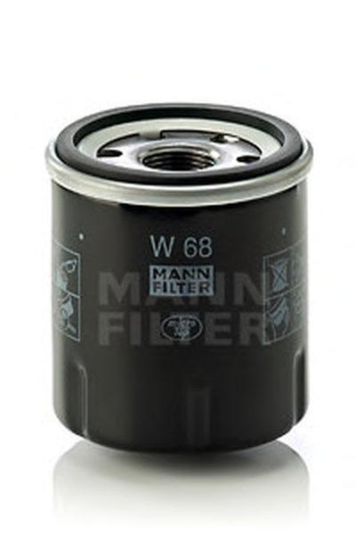 W68 MANN-FILTER Масляный фильтр