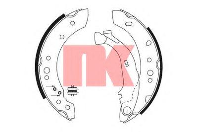 Комплект тормозных колодок NK купить