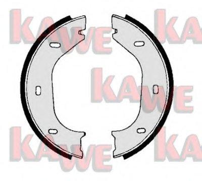 Комплект тормозных колодок, стояночная тормозная система KAWE купить