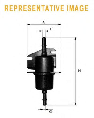 WF8152 WIX FILTERS Топливный фильтр-1