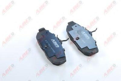 Фотография Комплект тормозных колодок, дисковый тормоз ABE C2Y014ABE-10