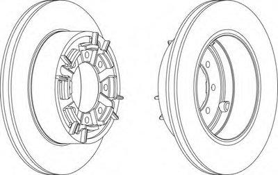 Тормозной диск Ferodo