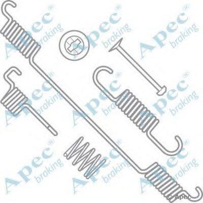 Комплектующие, тормозная колодка APEC braking купить