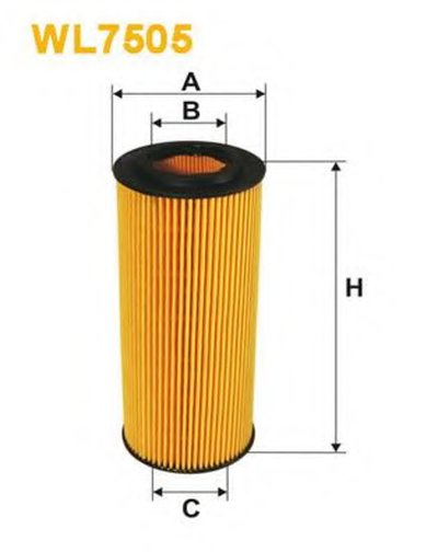 WL7505 WIX FILTERS Масляный фильтр