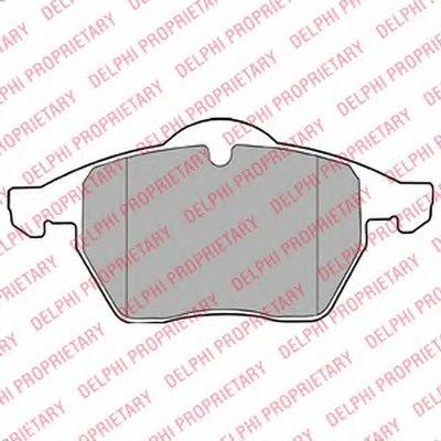 """Гальмівні колодки дискові AUDI/SEAT/VW A3/TT/Leon/Passat """"F """"96-06"""