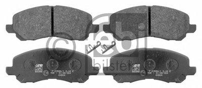 16644 FEBI BILSTEIN Комплект тормозных колодок, дисковый тормоз