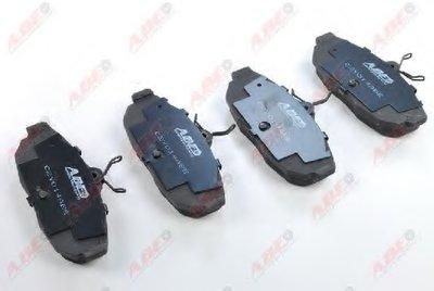 Фотография Комплект тормозных колодок, дисковый тормоз ABE C2Y014ABE-11