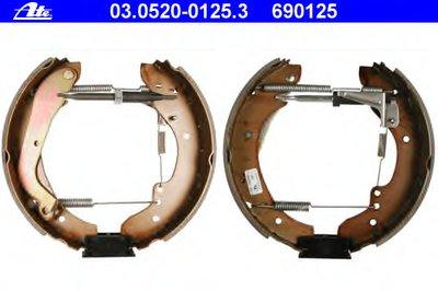 Комплект тормозных колодок Original ATE TopKit ATE купить
