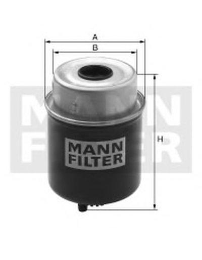 WK8128 MANN-FILTER Топливный фильтр
