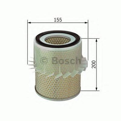1987429186 BOSCH Воздушный фильтр