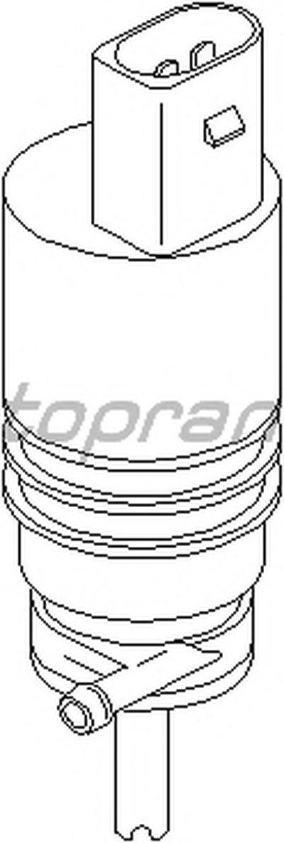 Водяной насос, система очистки окон TOPRAN купить