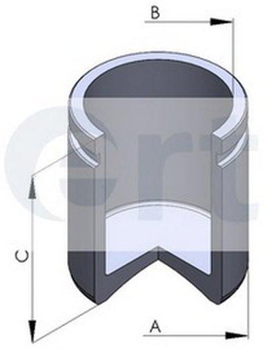 Поршень, корпус скобы тормоза ERT купить