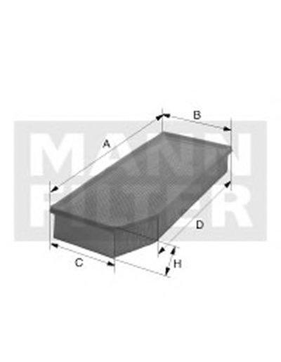 C29021 MANN-FILTER Воздушный фильтр