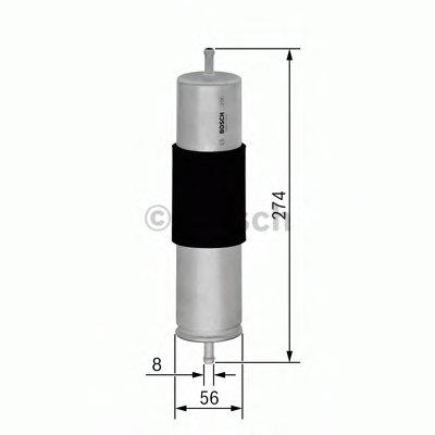 0450906463 BOSCH Топливный фильтр