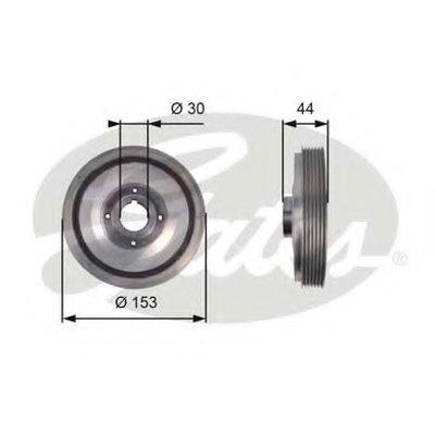 Ременный шкив, коленчатый вал DriveAlign® GATES купить