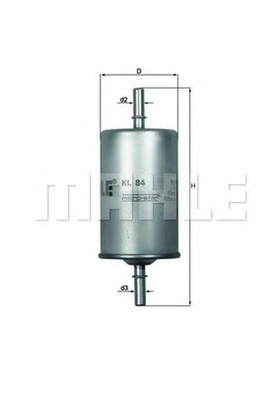 KL84 KNECHT Топливный фильтр