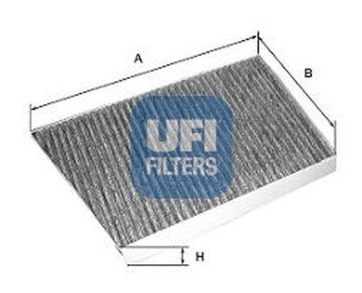 5413300 UFI Фильтр, воздух во внутренном пространстве