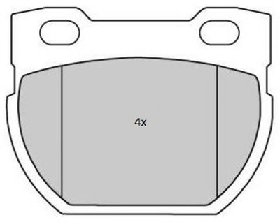 Комплект тормозных колодок, дисковый тормоз FREMAX купить