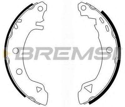 Комплект тормозных колодок BREMSI купить