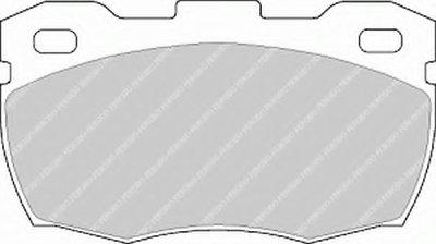 Комплект тормозных колодок, дисковый тормоз PREMIER FERODO купить