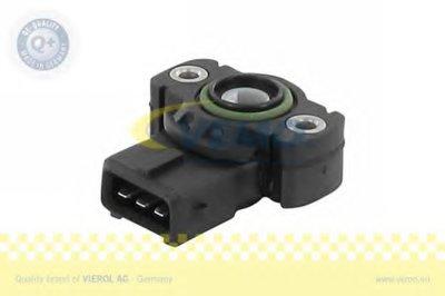 Датчик, положение дроссельной заслонки Q+, original equipment manufacturer quality MADE IN GERMANY VEMO купить