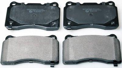 B111265 DENCKERMANN Гальмівні колодки дискові передні Mitsubishi Lancer/Subaru Impreza/Opel Insignia 2.0-2.8 00-