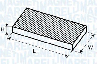 350203063210 MAGNETI MARELLI Фильтр, воздух во внутренном пространстве