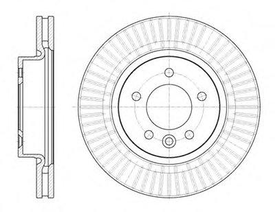 699410 ROADHOUSE Тормозной диск