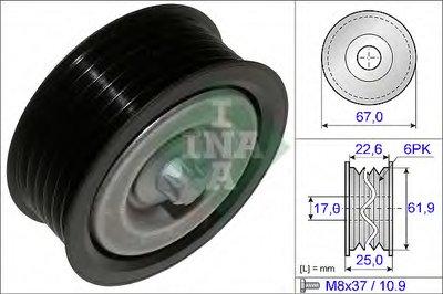 Ролик INA INA 532052610 для авто MERCEDES-BENZ с доставкой