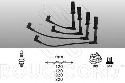 Комплект проводов зажигания BOUGICORD купить